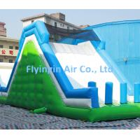 Giant Pvc Inflatable Rock Climbing and Inflatable Water Slide with Blower for Sale