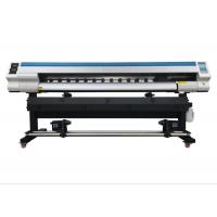 Buy cheap 1.8M Roll To Roll Inkjet Printing Machine 1440 Dpi Digital Eco Solvent Printer from wholesalers