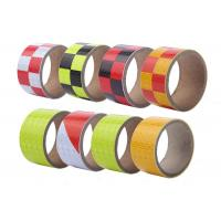 Buy cheap Residue Free Reflector Honeycomb Reflective Tape Based On PVC Reflective Film from wholesalers