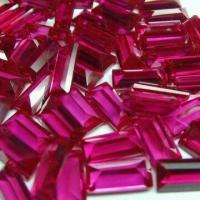 Buy cheap Synthetic Ruby/Red Corundum, Lab Created, Various Shapes and Sizes are Available from wholesalers