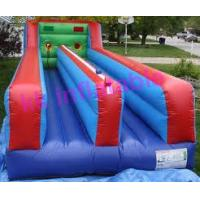 Buy cheap Big Outside Inflatable Sports Games Inflated Funny Racing Bungee Running from wholesalers