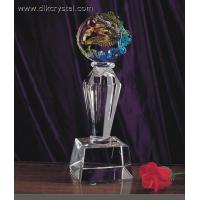 Buy cheap crystal trophy award souvenirs for golf player diamond brazil world cup trophy pulicrystal-208 from wholesalers