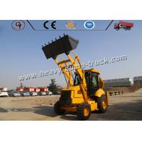 China Mini Tractor Heavy Construction Equipment With Front End Loader And Backhoe Loader on sale