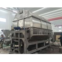 Buy cheap Carbon Steel Double Drum Hot Air Dryer Machine PLC Control Steam Thermal Oil Heating Medium from wholesalers