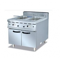 Buy cheap Stainless Steel 32kW 2 Basket Tank Fryer With Cabinet from wholesalers