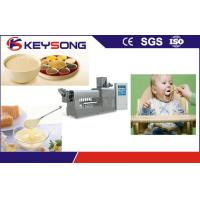 Buy cheap Stainless Steel Nutritional Baby Food Making Machine High Output 200 - 260 Kg / H from wholesalers