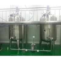 Buy cheap Electric Heating Stainless Steel Mixing Tanks For Tomato Sauce , Doble Sided from wholesalers
