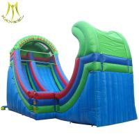Buy cheap Hansel hot selling outdoor commercial playground giant inflatable slide for sale from wholesalers