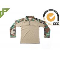 Buy cheap Frog Woodland Digital Camo Combat Shirt With Adjustable Cuff Anti Decline Self Locking from wholesalers
