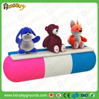 Buy cheap doll inflatable soft seesaw Indoor Playground Soft Electric Game Play  mall kids game latest from wholesalers
