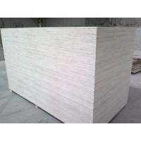 Buy cheap Hot sale Birch veneer Poplar core  laminated sheet plywood 18mm for funiture1220X2440X5MM	D/E	E2 glue plywood for sale from wholesalers