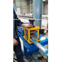 Buy cheap Aluminium Roller Shutter Door Roll Forming Machine 3 Tons 39mm / 42mm / 45mm from wholesalers