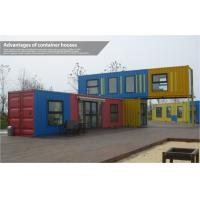 Buy cheap Custom Modern Prefab Shipping Container Homes , Mobile Modular Shipping Container House from wholesalers