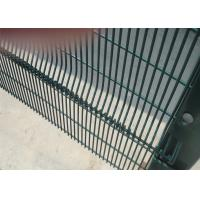 Buy cheap 358 mesh Fence High Security Clearvu Fencing ,Anti Cut ,Climb Available V beams ,Customized hIGH SECURITY wire fence from wholesalers
