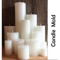 Buy cheap Stereo cylindrical wedding candle mold European handmade round SPA candle molds from Wholesalers