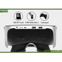 Buy cheap Video Game Virtual Reality Headset , Android 5 .0 WiFi Smart Video Glasses from wholesalers