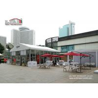 Buy cheap Luxury Outdoor Event Tents 10x20m With Glass Panel For Dyson Exhibition from wholesalers