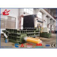 Buy cheap Popular Stainless Steel Scrap Metal Baler , Turn - Out Stype Baling Press Machine 250 Ton product