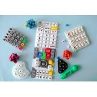 Buy cheap Heat Resistant  tasteless Multi-color Silicone Rubber Keypad for telephones,  multimedia from wholesalers