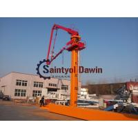 Buy cheap 29m 32m 33m Column Tower hydraulic Self-Climbing Jack-up Concrete Placing Boom with 22.7m Column from wholesalers