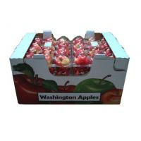 Buy cheap Rectangle Corrugated Fruit Packing Boxes For Strawberries , Glossy / Matt Lamination from wholesalers