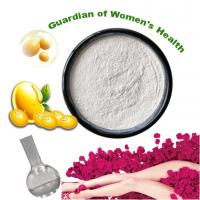Buy cheap White Powder Herbal Plant Extract , Soybean Germ Extract Powder 10% Antioxidants from wholesalers