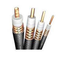 Buy cheap Helix Copper Tube Radiating Cable , 1/2 Inches Leaky Feeder Cable For Wireless product