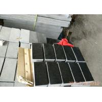 Buy cheap 3200kg/M3 Basalt Paving Stones , G684 Black Pearl Granite Landscape Stone product