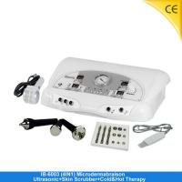 Buy cheap Diamond Microdermabrasion Machine / Ultrasonic Skin Scrubber Machine For Beauty Salon IB-6003 from wholesalers