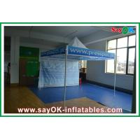 Buy cheap Fire Resistance Folding Tent Aluminum / Iron Frame Oxford Cloth from wholesalers