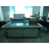 Buy cheap Paper Packaging Carton Box Making Corrugated Sample Cutter Machine from wholesalers