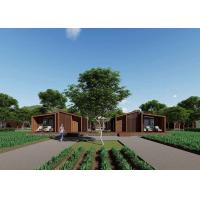 Buy cheap Novel Luxury Prefab House / Prefab Garden House With Wooden Interior Appearance from wholesalers