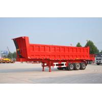 Buy cheap 60 ton hydraulic dump trailer tractor hydraulic dump trailer Semi Dump Trailers / Tipper Lorry from wholesalers