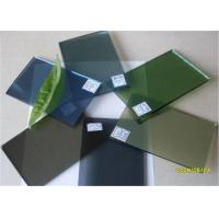 Buy cheap 5 Mm Thickness Dark Green Tinted Glass / Floating Glass Panel For Construction product