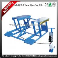 Buy cheap AT-GL2.8 2800kg Lifting Capacity Movable Hydraulic Scissor Car Lift with Safety Lock from wholesalers