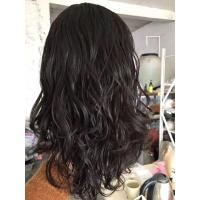 Buy cheap 16 Inches Natural Color  Body Wave Jewish Wig  Brazilian Virgin Hair Hidden Knots with Baby Hair from wholesalers