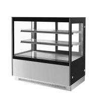 Buy cheap 4 Layers Bakery Glass Showcase , 6ft Square Glass Sweet Display Case from wholesalers