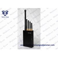 3W Handheld Cell Phone Jammer AC Adapter For Phone Signal LOJACK GPS