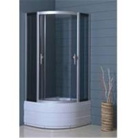 Buy cheap Hotel Luxury Bathroom Shower Cubicles , Custom Glass Shower Enclosures from wholesalers