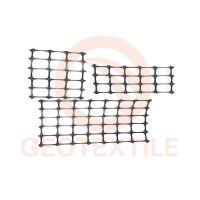 Buy cheap Sub Grade / Base Reinforcement PP Biaxial Geogrid Black Color High Strength product