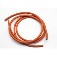 6MM and 8MM W.P 300PSI Orange Color Oil Resistant Rubber Hoses for Gas