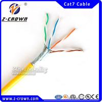 Buy cheap CMX/CM/CMR/CMP Certified Cat7 UTP/ FTP/ STP/ SFTP Ethernet Lan Cables product