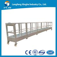 Buy cheap construction gondola working platform / elevated suspended woking platform / lift cradle from wholesalers