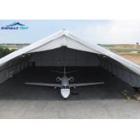 Buy cheap TFS Helicopter Aircraft Hangar Tent With Sliding Hard Walls / Special Fabric Aluminum from wholesalers