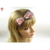 Buy cheap Trendy Hair Ornament Bow Hair Bands Girls , Floral Bridal Headbands from wholesalers