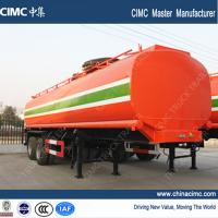 Buy cheap fuel tank trailer , 30,000L fuel tank semi trailer from wholesalers