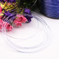 Buy cheap SGS eco-friendly bold clear TPU plastic elastic cord for bra strap from wholesalers