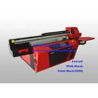 Buy cheap Commercial Multicolor Flatbed Wood UV Printer With Ricoh Industrial Print Head from wholesalers