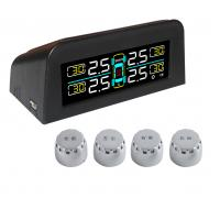 Buy cheap Power from Solar Vehicle Tire Pressure Monitoring System TPMS 24 hours monitoring External Sensor product
