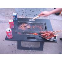 Buy cheap Wooden charcoal Balcony BBQ Grill from wholesalers